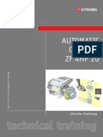 AUTOMATIC GEARBOX ZF 4HP 20