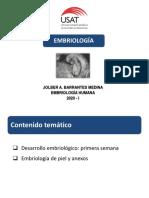 Clase 01. Embriología Piel y anexos