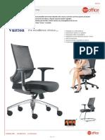 Ergonomìa de la silla