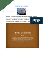 PUNTO DE HUMO