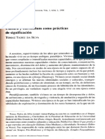 Da Silva, Tomaz Tadeu (1998) Cultura y currículum como prácticas de significacion