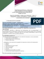 Guía de actividades y rúbrica de evaluación – Paso  2 - Resignificar, refinar, profundizar y contextualizar el conocimiento de la Unidad 1..pdf