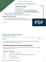 Listado Transacciones SAP - Educación - Ayuda SAP.pdf