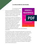 EL ABC DE LAS RELACIONES DE JHON MAXWEL