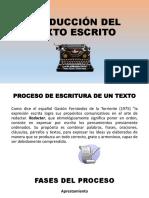 PRODUCCIÓN DEL TEXTO ESCRITO