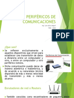 PERIFÉRICOS DE COMUNICACIONES