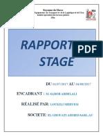 rapport de 1er stage
