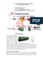 Flotation machine china