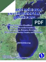 Regional Environmental Corridors September 2005 (unprotected)