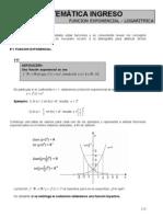 logaritmo exponencial funciones
