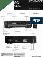 KENWOOD DP-1100SG optimisé