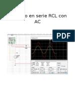 Circuito RCL en AC