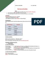 3- Dermatologie - Dermocorticoides