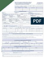 Formulario de Conocimiento del Cliente Persona Natural 2019