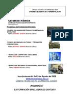 Oferta Educativa Web III Trim 2020
