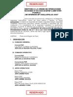 HOJA COMPLEMENTARIA A LA ORDEN DE OPERACIONES ORDEN DE OPERACIONES N (1)