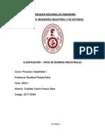 clasificación - tipos de bombas industriales + bombas sumergibles
