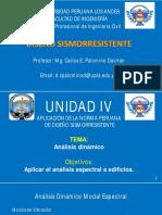 16 - DISEÑOS SISMORRESISTENTE - ANALISIS DINAMICO