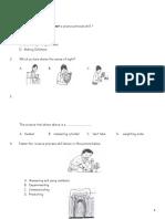 PAT SAINS (DLP) TAHUN 3, 2018 - Paper 1