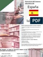 Estructura del Sistema Educativo de España