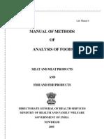 chemical methods of food analysis