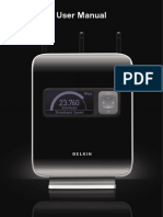 belkin N1 vision user manual