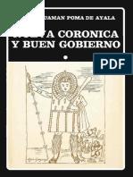 Guaman Poma - Nueva coronica I