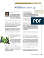 Governance Committees Come of Age - ICD DIrector (Feb 2007)
