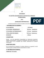 EN GESTIÓN ADUANERA BAJO EL CONTEXTO DEL COMERCIO INTERNACIONAL. 8