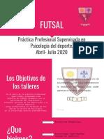FUTSAL- informe de devolucion visual