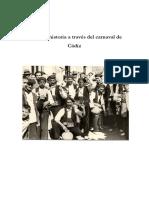 Taller La historia a través del carnaval de Cádiz