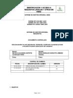HSE-PR-03. IDENTIFICACION Y ACCESO A REQUISITOS LEGALES