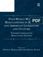 (Incompleto)  Post-World War II Masculinities in British and American Literature and Culture - Stefan Horlacher.pdf
