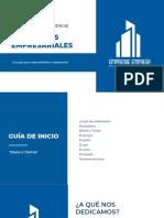 Modelo presentación de Empresa