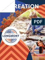 Longmont Recreation Fall 2020