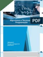 Técnicas de Programação e Algoritmos