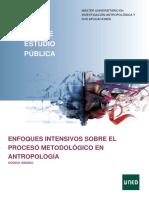 3 ENFOQUES INTENSIVOS SOBRE EL PROCESO METODOLÓGICO EN ANTROPOLOGÍA
