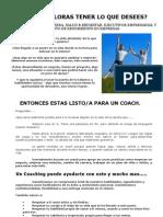 COUCH CUÁNTO VALORAS TENER LO QUE DESEES