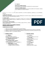 PLAN ANUAL DE PRIMER GRADO CLASE DE MÚSICA