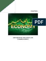 Economics Ch 01 GDP,Inflation & Unemp.