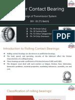 DTS presentation 2 bearings