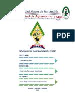 Proceso de elaboración del Chuño - Paola Andrea Mamani Montecinos