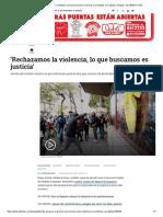 Familia de Javier Ordoñez se pronuncia sobre violencia en protestas Cai Villaluz - Bogotá - ELTIEMPO.COM