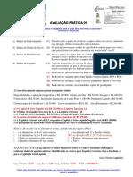 CFC - GESTÃO CONTÁBIL - Atividade Prática 01 - GABARITO-  Profº William James