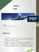 PPT Aviation law (1) - Definición, fuentes, relaciones, convenios y otros.pptx