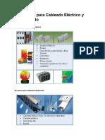 Accesorios para Cableado Eléctrico y Estructurado