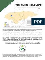 ÁREAS PROTEGIDAS DE HONDURAS