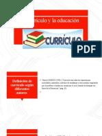 8930-El curriculo y la educacion