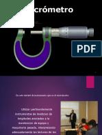 Presentacion del micrometro