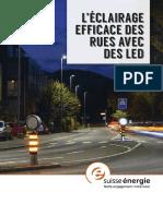 805.906.F EnergieSchweiz Broschüre Effiziente Strassenbeleuchtung Mit LED